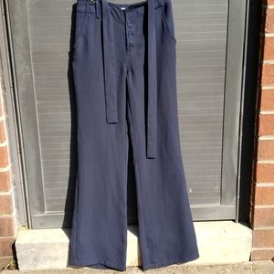 Forever 21 I love h81 blue dress pants sz 26